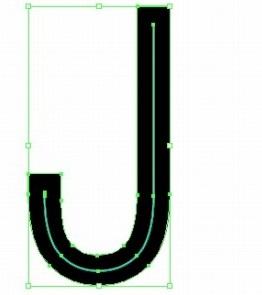 イラレの文字の中央に線を入れる方法